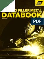 Esab Welding Filler Metal Databook - Usa 2016-Comprimido