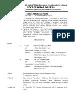 Surat Tugas Kosultasi, Kordinasi, Dan Pelaporan Hasil Survei Akreditasi Puskesmas.docx