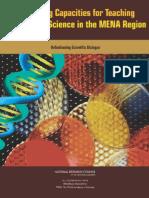 Developing capacities for teaching science in MENA region