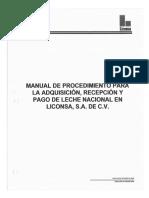 MANUAL DE ORGANIZACIÓN LICONSA
