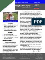 newsletter 2019 08