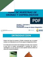 MODULO N° 7 TOMA DE MUESTRAS PARA ANALISIS DE ORINAS Y COPROLOGICOS.ppsx