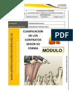 Doc (4) – Clasificación de Contratos Según Su Forma