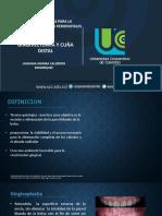 Gingivectomia y Cuña Distal (1)