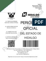 LEY DE INGRESOS TULANCINGO,ZIMAPAN Y ZEMPOALA