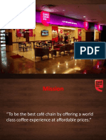 Business Strategies Adopted by Cafe Coffee Day