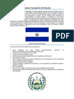 Bandera Nacional de El Salvador