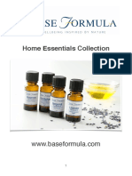 Home Essential Oils Collection Recipes
