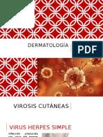 Virosis cutaneas