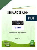 Seminario Minicomponente Panasonic