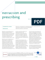 Refraction and prescribing