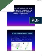 RECUPERACIÓN ECOLÓGICA DE LA CANTERA EL CONSUELO EN LOS CERROS ORIENTALES DE BOGOTÁ, COLOMBIA.