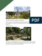 Los mayas, numeracion, monumentos, musica