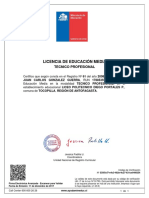 Certificado de Enseñansa Media 2008