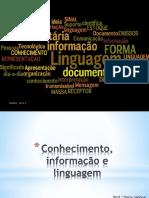 Conhecimento, Informação e Linguagem