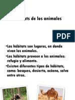 Hábitats de Los Animales