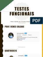 Curso - Testes Funcionais