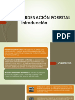 Ordenación Forestal Introduccion