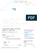 1) CCNP ROUTE