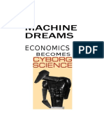 Philip Mirowski - Machine Dreams_ Economics Becomes a Cyborg Science (2001, Cambridge University Press).doc