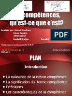 competences en gestion