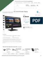 HP DreamColor Z27x G2 16_9 IPS Studio Display 2NJ08A8#ABA B&H