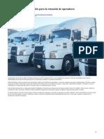 Claves de Transportes Pitic para la retención de operadores