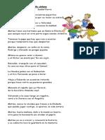 Comprensión Lectora_Ronda Para Un Niño Chileno