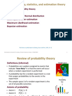 L10 - Probability, Statistics, And Estimation Theory