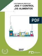 Guía de trabajos prácticos Bromatología 2017