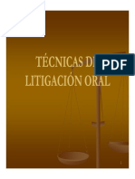 (Procesal Penal) 2076 2 Tecnicas de Litigacion Oral