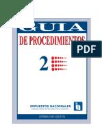GUÍA DE PROCEDIMIENTOS 2