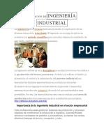 invetigacion de ingenieria industrial