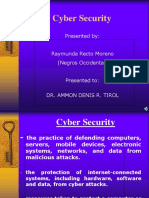 Cybersecurity (Risk Management)
