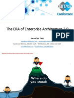 AaronTan-Enterprise Architecture 2.0-A New Paradigm