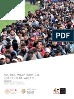Nota de an Lisis-Pol Tica Migratoria Del Gobierno Mexicano
