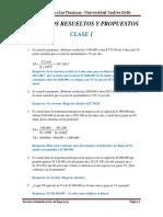 Ejercicios Resueltos y Propuestos Clase 1