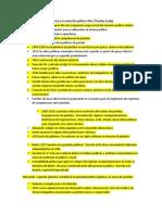 Los Partidos de Centro y La Evolución Política Chile