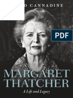 Cannadine, David-Margaret Thatcher _ a Life and Legacy-Oxford University Press (2017)