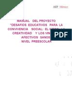 DESAFIOS EDUCATIVOS Para La Convivencia Preescolar