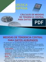 Medidas de Tendecia Central Para Datos Agrupados