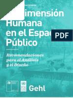La Dimencion Humana en El Espacio Publicio