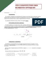 Cours - Physique - Optique