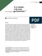 Antropologia feminista - Cecilia Sandenberg