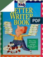 Letter writer book