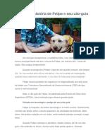 A Delicada História de Felipe e Seu Cão