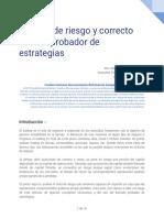 Análisis de Riesgo y Correcto Uso Del Probador de Estrategias