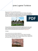 Los 10 Mejores Lugares Turísticos de Perú