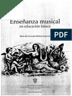 Enseñanza Musical en Educación Básica CONSUELO MEDINA