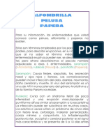 Alfombrilla Pelusa Paperas - SARAMPION RUBEOLA PAROTIDITIS